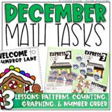 December Math Tasks