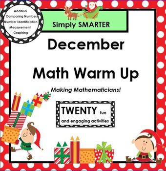 DECEMBER MATH WARM UP