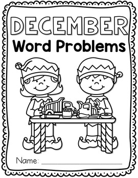 December Math Word Problems