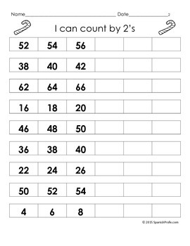 December Math Worksheets & Centers for First Grade (English) 1st