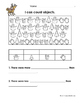 December Math Worksheets & Centers for Kindergarten (English)