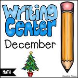 December Math Writing Station