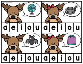 December Math and Literacy Centers for Kindergarten