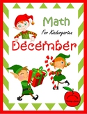 December Math for Kindergarten