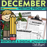 December Writing Prompts | December Writing Journal | December Writing Center