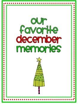 December Memory Writing Prompt