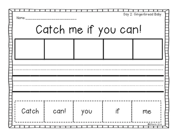 December Mentor Sentences: A Primary Mentor Sentence Bundle