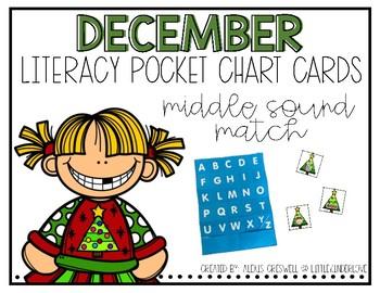 December Middle Sound Pocket Chart Fun