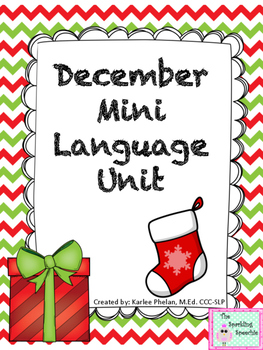 December Mini Language Unit