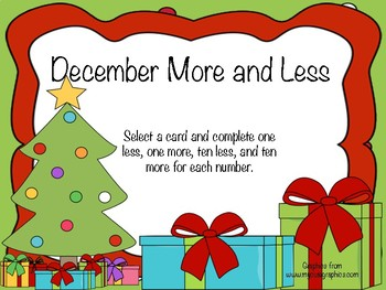 December More and Less