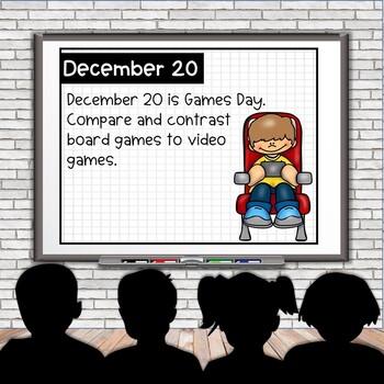 December Morning Activities