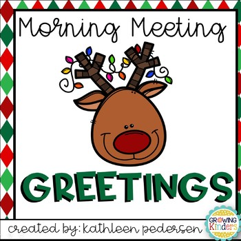 December Morning Meeting Greetings
