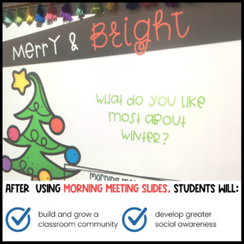 December Morning Meeting Questions