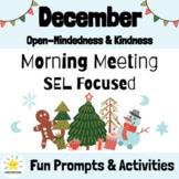 December Morning Meeting Slides & Workbook: Social Emotion