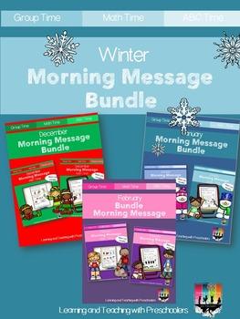 Winter Morning Message Bundle