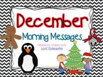 December Morning Messages Bundle