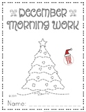 December Morning Packet - 10 Pages Math and Reading!