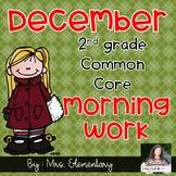 2nd Grade Common Core December Morning Work