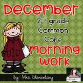 2nd Grade Common Core December Morning Work