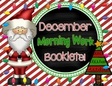 December Morning Work Booklets