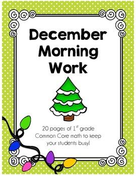 December Morning Work - CC Math Skills