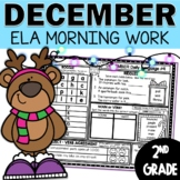 Morning Work December | 2nd Grade
