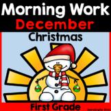 December Morning Work {First Grade}