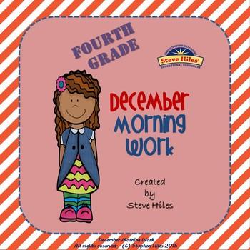 December Morning Work: Fourth Grade