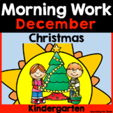 December Morning Work {Kindergarten}