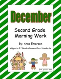 December Morning Work Second Grade