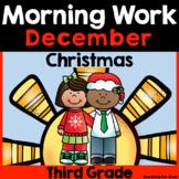 December Morning Work {Third Grade}