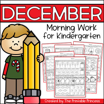 picture relating to The Printable Princess identified as December Early morning Get the job done for Kindergarten