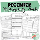 December Morning Work! {For Upper Elementary}