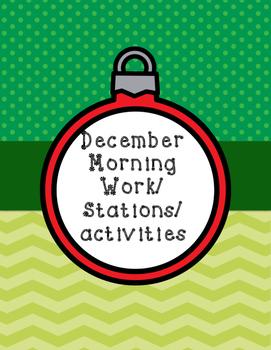 December Morning work /stations