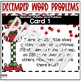 December Multistep Word Problems (2 & 3 Digit Addition & Subtraction)
