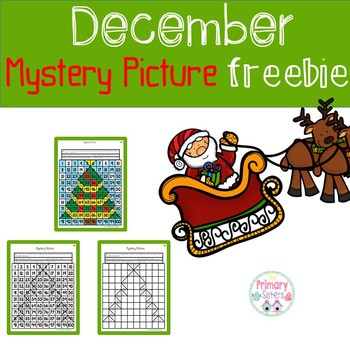 December Mystery Picture Freebie