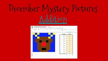 December Mystery Pictures- Addition