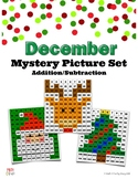December Mystery Pictures with 120 chart