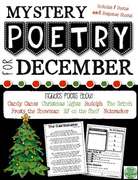 December Mystery Poetry Set