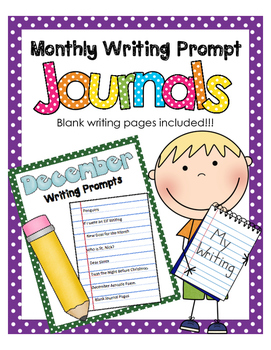 December NO PREP Journal Prompts
