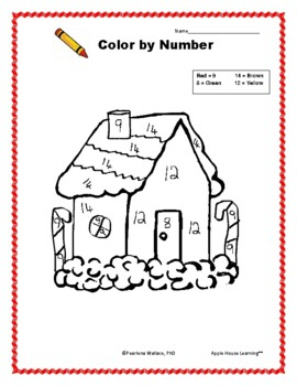 December (Christmas) NO PREP Math & Literacy  Activities with Coloring Sheets