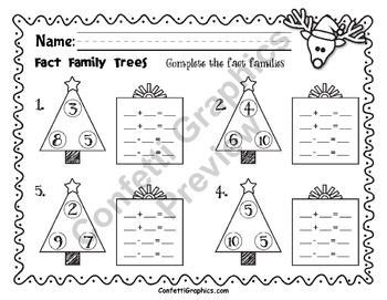 December NO PREP PACKET Christmas Reindeer K 1 2 Kindergarten First Second