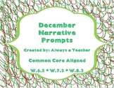 December Narrative Prompts