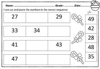 December No PREP Kindergarten and First Grade Math