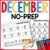 December No Prep Just Print