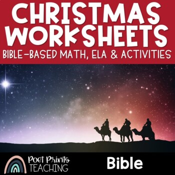 December No Prep Pack, Christmas, Bible Based
