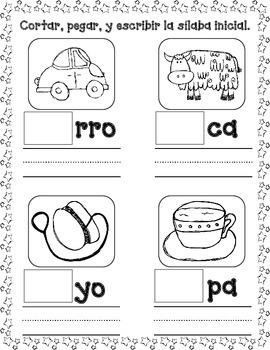 December No Prep Spanish Literacy Fun:  Pre-K and Kindergarten