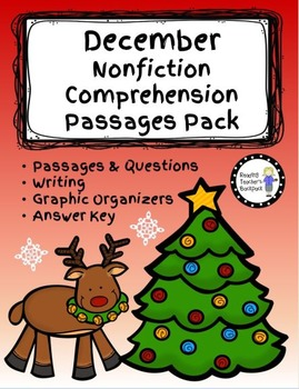 December Nonfiction Comprehension Passages Pack