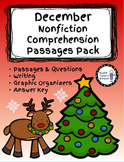 December Nonfiction Comprehension Passages Pack