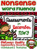 Winter Nonsense Word Fluency R.T.I. Assessment for December